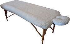 Prime Deluxe Fleece Woollen Overlay Table Cover & Head Rest Cover 2 Piece