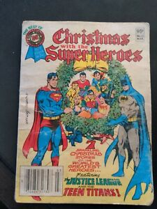 Christmas With The Superheroes 1981 DC Comic Book Jack Kirby