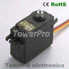 Servo motore TOWER PRO MG945 12kg servocomando robotica arduino mini modellismo