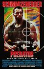 Внешний вид - Predator movie poster : 11 x 17 inches : Arnold Schwarzenegger poster