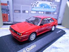 AUDI Quattro Turbo Coupe 10V 1981 venus rot red  RAR PMA Minichamps 1:43
