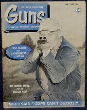 Magazine *GUNS* May 1959 Collect GUN MINIATURES, ELMER KEITH Says: S&W Model 41