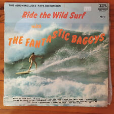 SURFING SURF VINYL LP RIDE THE WILD SURF THE FANTASTIC BAGGYS