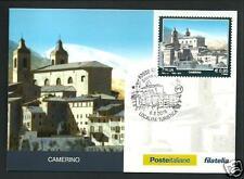 Camerino ( Macerata ) - Cartolina Filatelica Ufficiale Poste Italiane - 2016