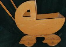 Antique Metal Doll Carriage/Stroller