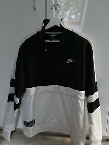 Sweatshirt, Nike, Herren, Gr. M, Schwarz Weiss