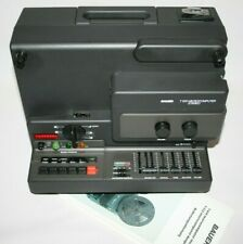 Super 8 Stereo Projektor Bauer T 610 Microcomputer einer der letzten Top Zustand