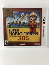 NINTENDO 3DS VIDEO GAME SUPER MARIO MAKER SELECTS BRAND NEW AND SEALED