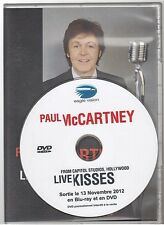 PAUL McCARTNEY live kisses DVD PROMO france french pressing BEATLES WINGS