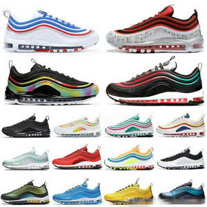 2020 Women's Mens  Vapor Running Shoes Air Cushion 97 Metallic Trainer