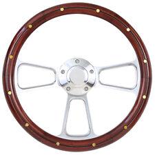 1949 -1957 Ford F1, F100 Pick Up Truck w/GM Column Wood & Billet Steering Wheel