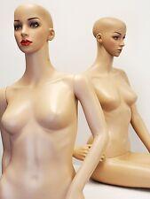Adult 1 Female Full Body & 1 sitting full body Mannequin Look