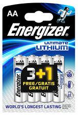 4x Energizer Ultimate litio pilas AA mn1500 lr6 Mignon-Embalaje original-nuevo
