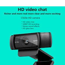 Logitech Pro C920e Webcam FHD 1080P Video Camera Recording Desktop Laptop Webcam