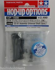 New Tamiya Pajero Jeep or FJ CC 01 Crawler Truck Front CV Universal Shaft Set