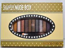 Saffron Simply Nude Box EyeShadow Eye Shadow 12 Piece Make Up Cosmetics Palette