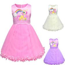 My Little Pony Mädchen Cosplay Costüm Party PrinzessinPerformance TutuKleid