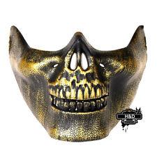 Halloween Masquerade Mask fans Face Skeleton Warrior mask skull CS horror