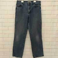 Vintage Lee Riders High Waisted Mom Jeans Relaxed Straight Leg Women's 10 Medium