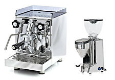 Rocket Cellini Evoluzione V2 Espresso Coffee Maker Machine & Fausto Grinder Set