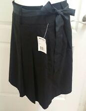 NWT SHORT SOLID BLACK SKIRT by Ingredients size 4