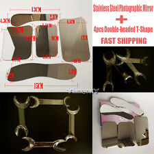 5×Dental Clinic  photography Mirror+4× Intraoral Retractor Mouth Cheek Opener