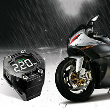 Steelmate Tire Pressure Monitoring System 2 Sensor LCD Display for Motorcycle