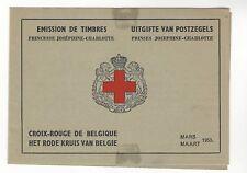 BELGIUM SCOTT # B534a BOOKLET