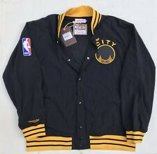 Authentic NBA Mitchell & Ness Golden State Warriors Vintage warm-up Jacket XXXL