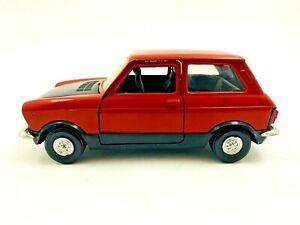 Autobianchi A112 Abarth Polistil 1:25 Scale Diecast Car Made in Italy #36b