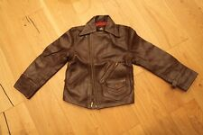 Lost Worlds CUSTOM RIDERS LEATHER JACKET Size 34