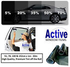 LIMO BLACK, MEDIUM, LIGHT & ULTRA LIGHT CAR AUTO TINT WINDOW TINTING FILM