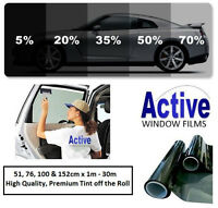 LIMO BLACK, MEDIUM, LIGHT & ULTRA LIGHT CAR AUTO TINT WINDOW TINTING FILM