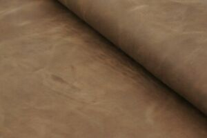 Crazy horse leather sheets in light dusty brown.Premium antique strong, soft,