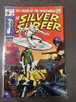 Marvel SILVER SURFER #10- 1st Appearance of Yarro Gort (1969) Silver Age FN-
