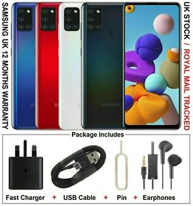 Samsung Galaxy A21s 32GB NFC Dual SIM Factory Unlocked UK Version