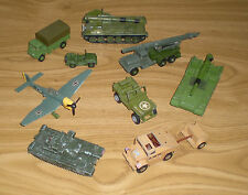 Vintage Dinky/Corgi militaire Job Lot