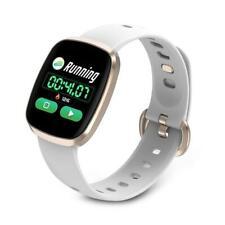 New MAKIBES IP67 Waterproof Sport Smart Fitness Smartwatch For iPhone Samsung