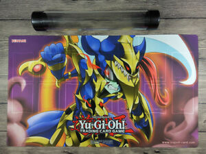 2020 YuGiOh Comic Toon Black Luster Soldier TCG Playmat with Card Zones FreeTube