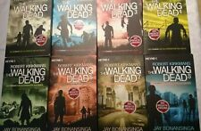 Walking Dead Roman  Bonansinga Kirkman Band 1-8 , 1 + 2 + 3 + 4 + 5 + 6 + 7 + 8