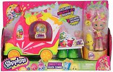 Shopkins Shoppies SMOOTHIE TRUCK COMBO Vehicle & Figure Playset Toy