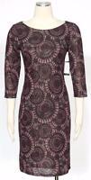 Nine West Boysenberry Dress Size S Casual Combo Shift Tunic Women's New*