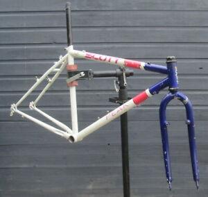 Scott Retro Steel Mountain Bike Frame. 18.5 inch. Ideal for Singlespeed or Gears