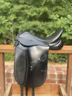 """Dover Circuit Dressage Saddle 17.5"""" (bridle, pad, & girth included)"""