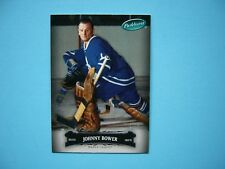 2007/08 UPPER DECK PARKHURST HOCKEY CARD #21 JOHNNY BOWER TORONTO MAPLE LEAFS NM