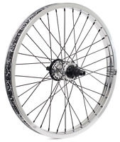 "SHADOW CONSPIRACY OPTIMIZED FREECOASTER REAR 20/"" WHEEL RHD 9T BMX BIKE SILVER"