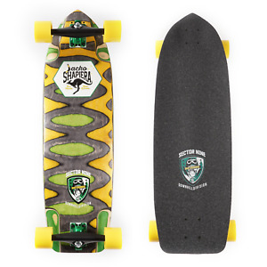 """Sector 9 Skate Downhill Division 10"""" x 33.25"""" Jacko Shapiera Ripped Pro Complete"""
