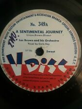 V-Disc #349 Les Brown And His Orchestra / Sammy Kaye And His Orchestra ‎– A Sent