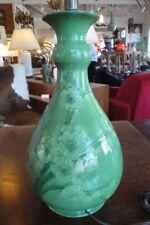 "Important William Moorcroft / Macintyre ""Prunus"" Ceramic Table Lamp"