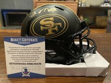 Joe Montana Autographed San Francisco 49ers Eclipse Mini Helmet Beckett #3
